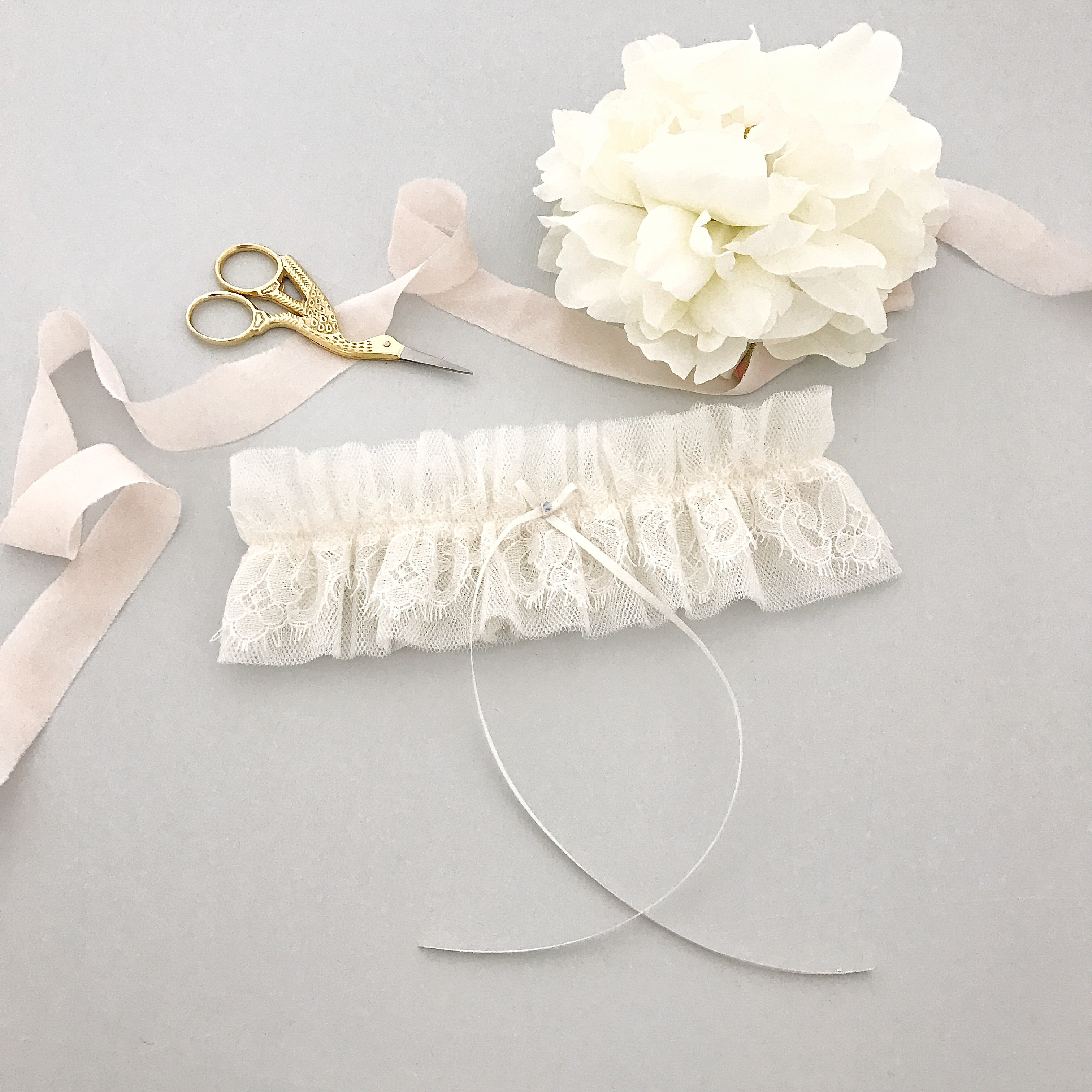 eyelash lace wedding garter