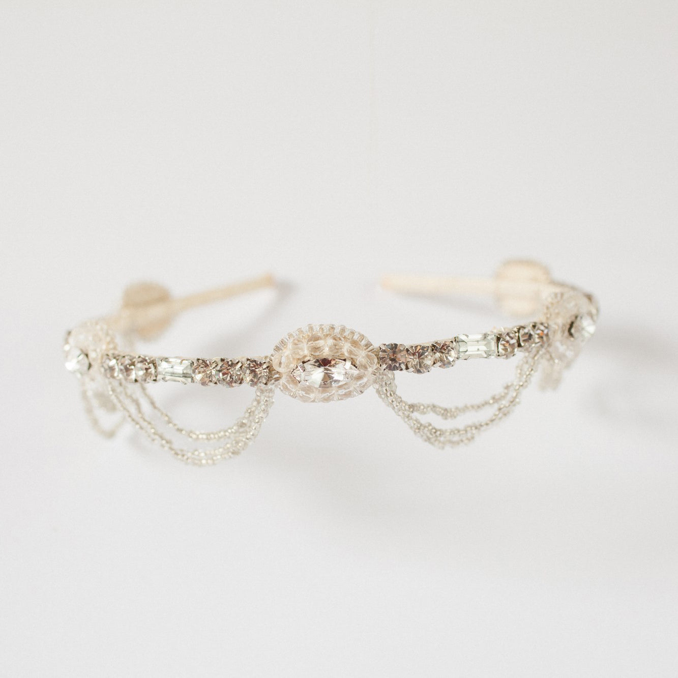 Orlee crystal wedding headband