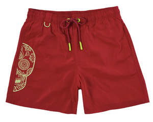 Load image into Gallery viewer, Salin - Big Skull  |  Mens Swimwear