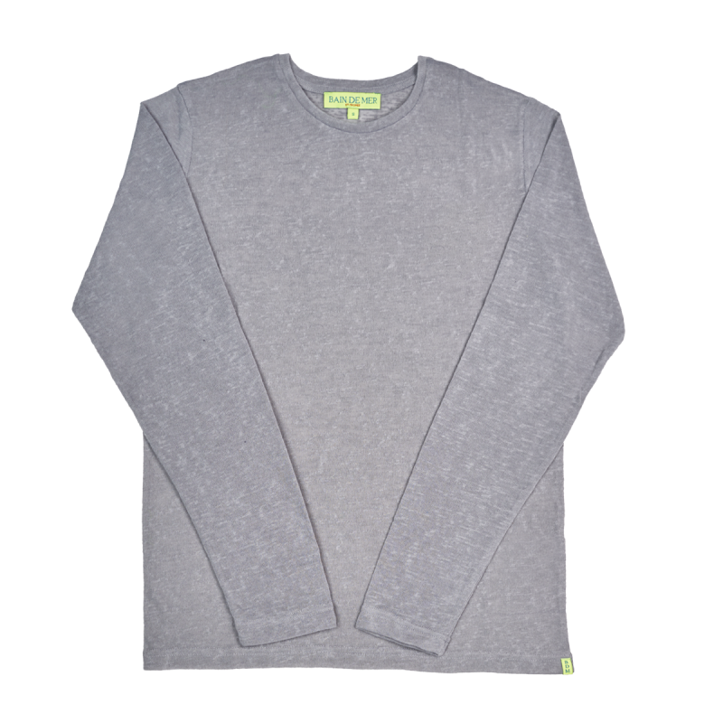 NIOULARGO BDM | Long Sleeve Linen T-Shirt