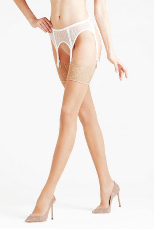 Falke Seidenglatt 15 Transparent Stay-Up