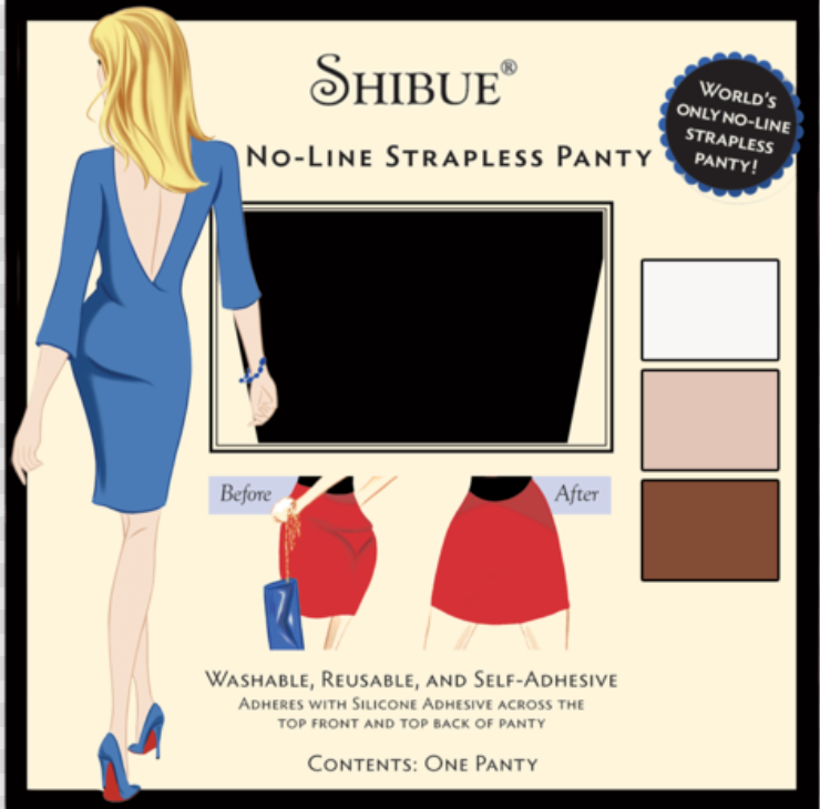 Shibue Couture No-Line Strapless Panty