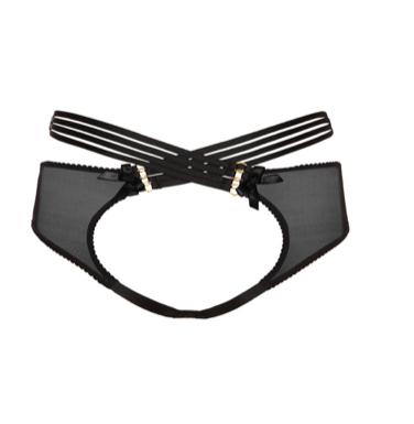 Bordelle Bondage Bell Peep Brief