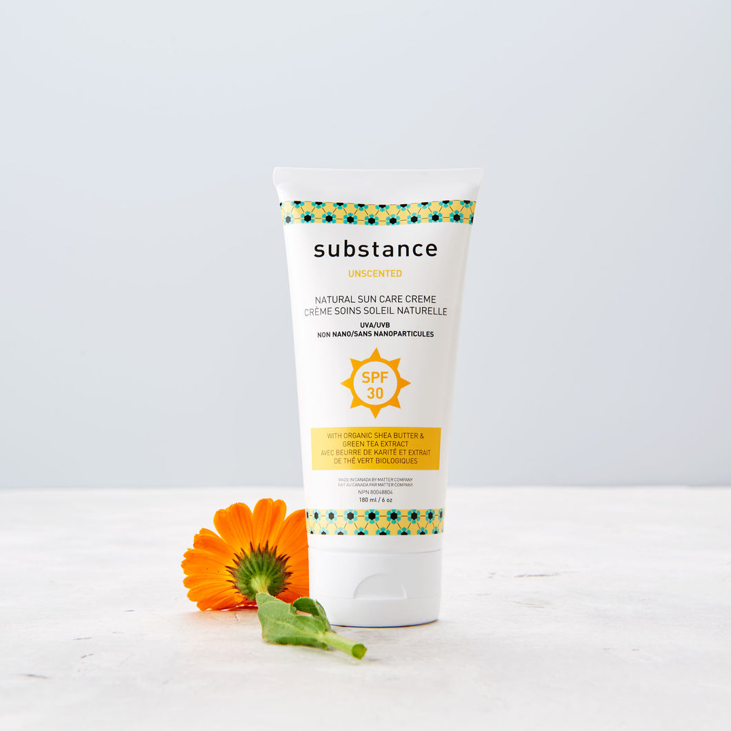 Unscented Natural Sun Care Creme