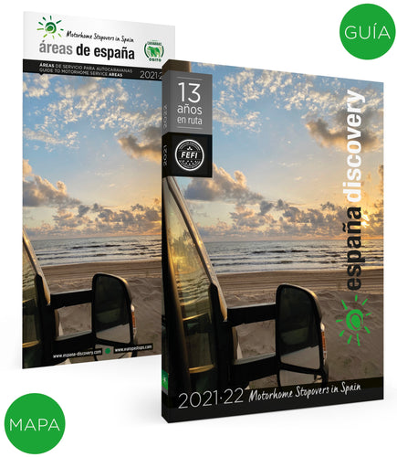 España Discovery Guide and Map 2021/22