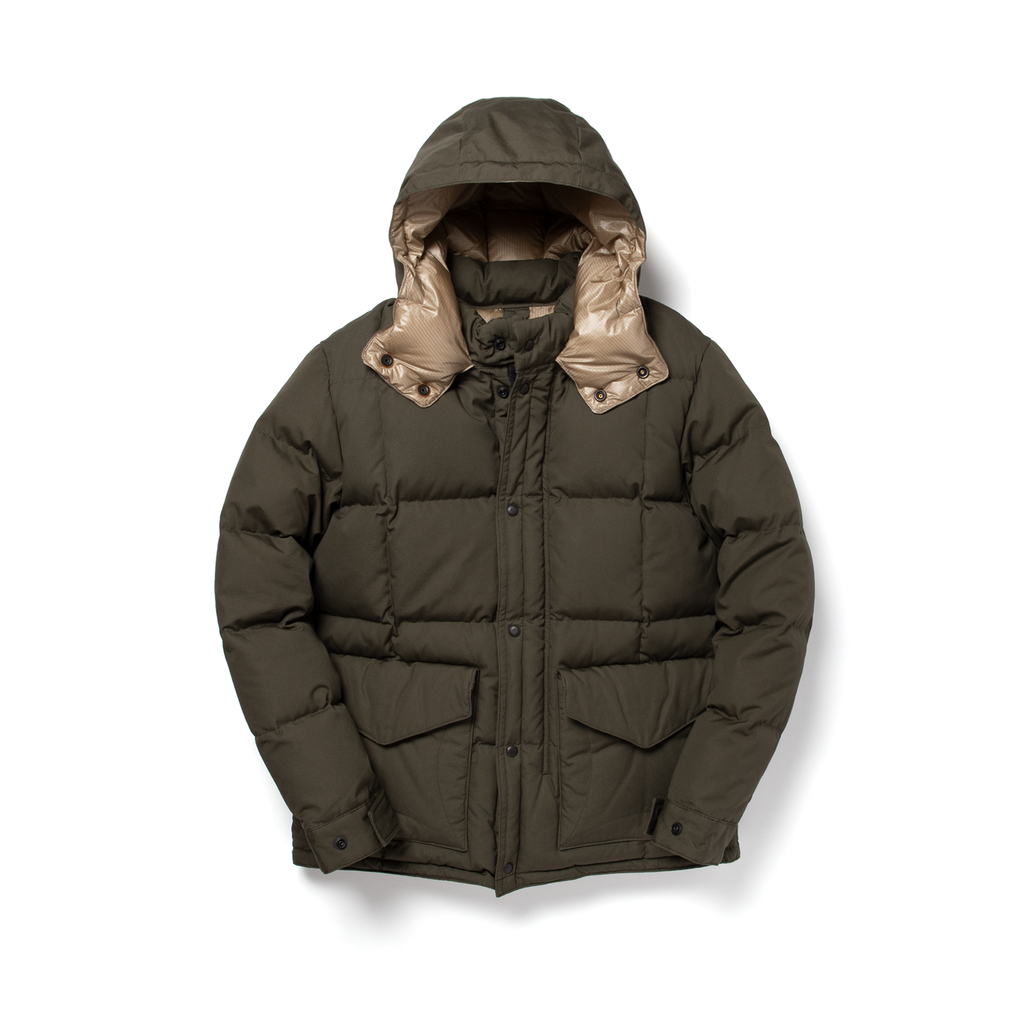 VINTAGE DOWN JACKET - KHAKI