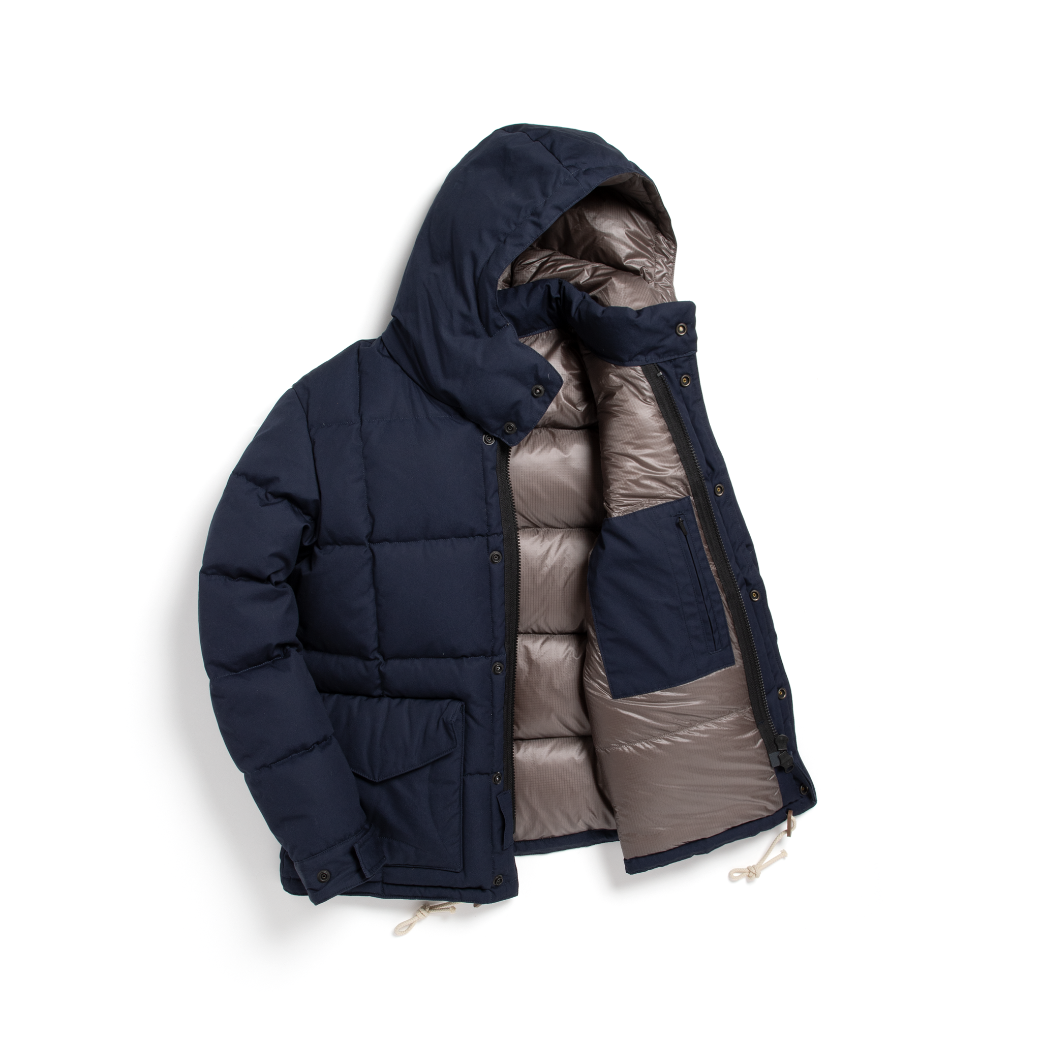 VINTAGE DOWN JACKET - NAVY