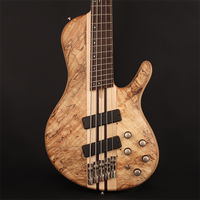 Cort Artisan Series A5PLUS 5-String Multi Scale Bass, Open Pore Natural, A5PLUSSCMSOPN, w/ Case
