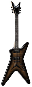 Dean MLX Flame Top Charcoal Burst