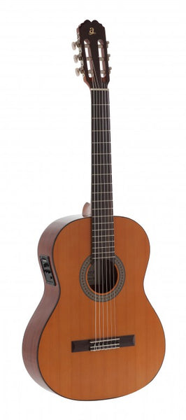 Admira Juanita-E classical w/ cedar top, Electrified series, Made in Spain