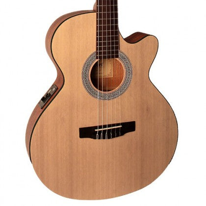 Cort Classic Series CEC1OP Guitar - Natural Open Pore Finish