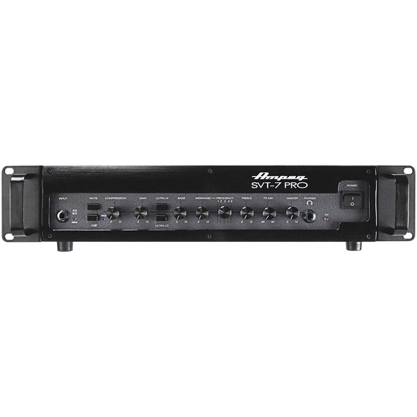 Ampeg SVT-7PRO 1000W Bass Head Tube Preamp, D Class Power Amp
