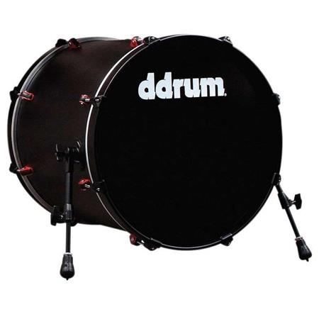 ddrum Hybrid Bass Drum 20x20 Black