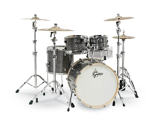 Gretsch Renown 4-Piece Drum Set (22/10/12/16)- Blue Metal