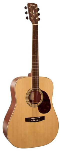 Cort Earth Series Earth100 Acoustic Guitar, Natural