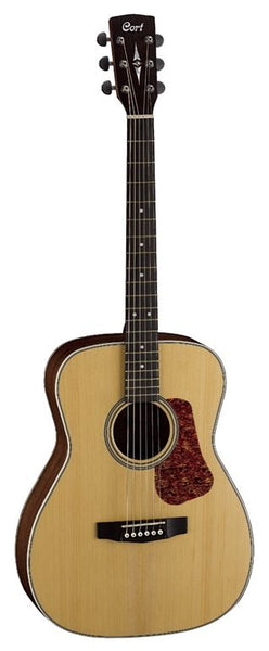Cort Luce Series L-100C Acoustic Guitar, Natural