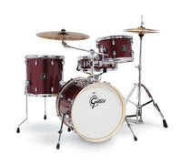 Gretsch Drums Gretsch Energy 4 Piece Street Kit w/Hardware (18/12/14/14SN) Ruby Sparkle, GE4S484RS