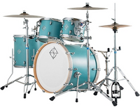 Dixon Cornerstone Maple 4pc Shell Pack Quetzal Blue