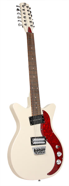 Danelectro 59X 12-String, Cream