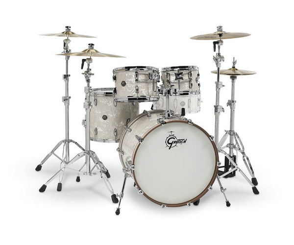 Gretsch Drums Gretsch Renown 4 Piece Drum Set (22/10/12/16) Vintage Pearl, RN2-E8246-VP