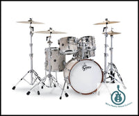 Gretsch Drums Gretsch Renown 5 Piece Drum Set (20/10/12/14/14sn) Vintage Pearl, RN2-E605-VP