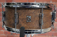 "British Drum Co. 14 x 5.5"" Lounge snare, mahogany & birch 5.5 mm blended shell, Iron Bridge"
