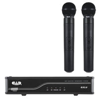 CAD Audio UHF Wireless K Frequency Band Dual Cardioid Dynamic Handheld Microphone System