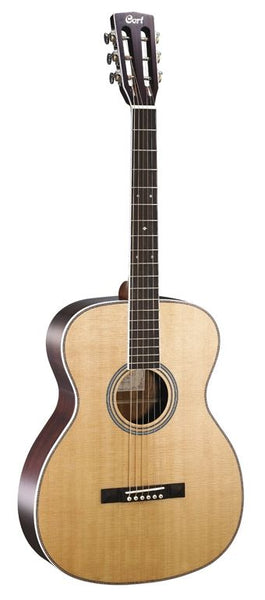 Cort Luce Series L-500O Acoustic Guitar, Natural Glossy