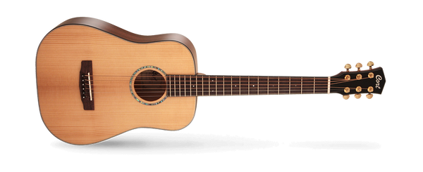 Cort GOLDMINI6NAT Gold Series Spruce Top All Solid Mahogany Mini 6-String Acoustic Guitar