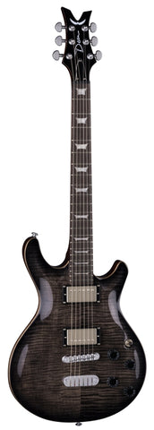 Dean Icon Flame Top Charcoal Burst