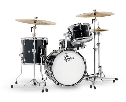Gretsch Drums Gretsch Renown 4 Piece Drum Set (18/12/14/14sn) Piano Black, RN2-J484-PB