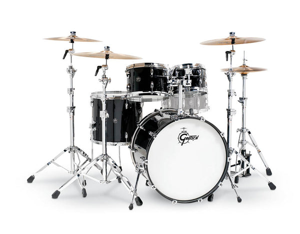 Gretsch Drums Gretsch Renown 4 Piece Drum Set (22/10/12/16) Piano Black, RN2-E8246-PB