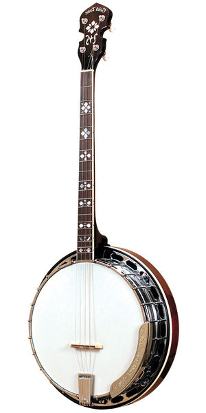 Gold Tone TS-250 4-String Flat Top Resonator Tenor Special Banjo Left-Handed TS-250 LH w/case