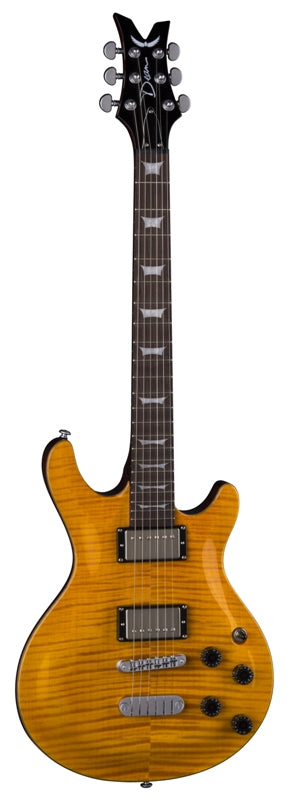 Dean Icon Flame Top Trans Amber