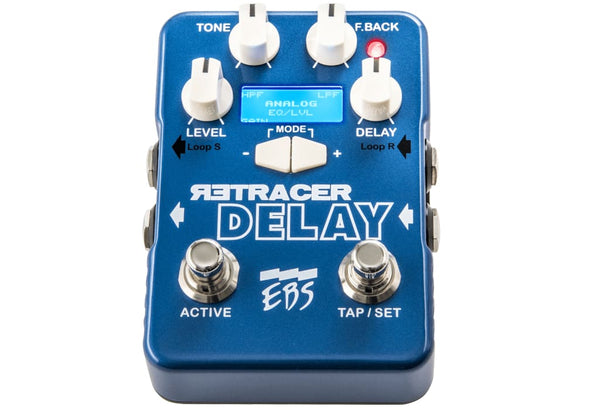 EBS Blue Label Pedal Series - Retracer Delay