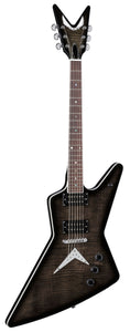 Dean Z 79 Flame Top Trans Black