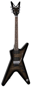 Dean ML 79 Floyd Flame Top Trans Black
