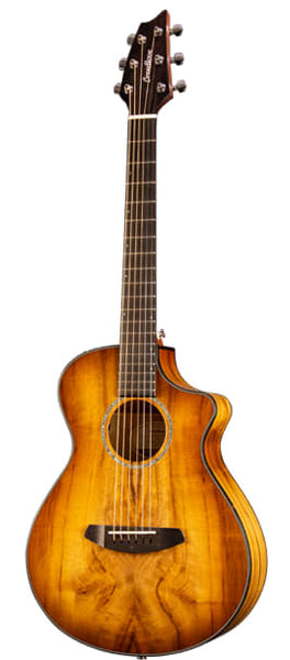 Breedlove Pursuit Exotic Companion Prairie Burst CE Myrtlewood-Myrtlewood