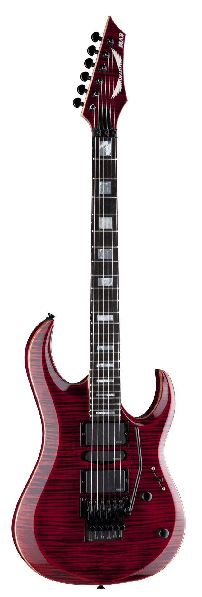 Dean USA Michael Angelo Batio - Trans Red