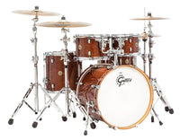 Gretsch Catalina Maple 5 Piece Shell Pack (22/10/12/16/14SN) - Walnut Glaze