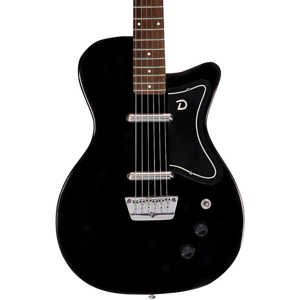 Danelectro 56 U2 Electric Guitar Black, D56U2-BLK