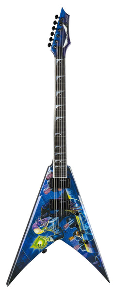 Dean V Dave Mustaine Rust In Peace w/Case