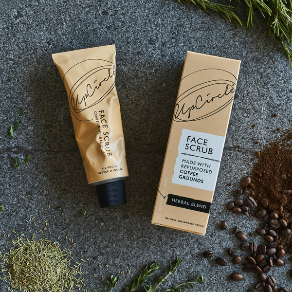 Coffee Face Scrub for Oily Skin by UpCircle Beauty