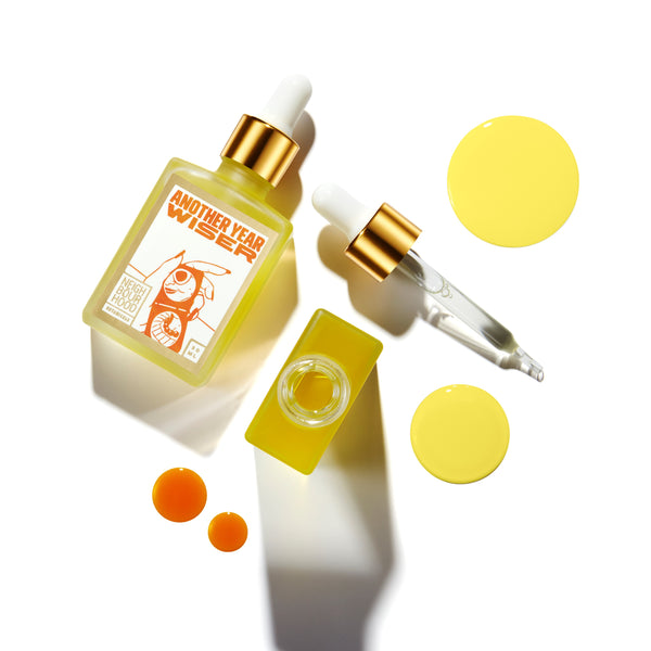 Best Vegan Face Oil for Sun-Damaged Skin - Neighbourhood Botanical Another Year Wiser Facial Oil for Sun-Damaged and Mature Skin