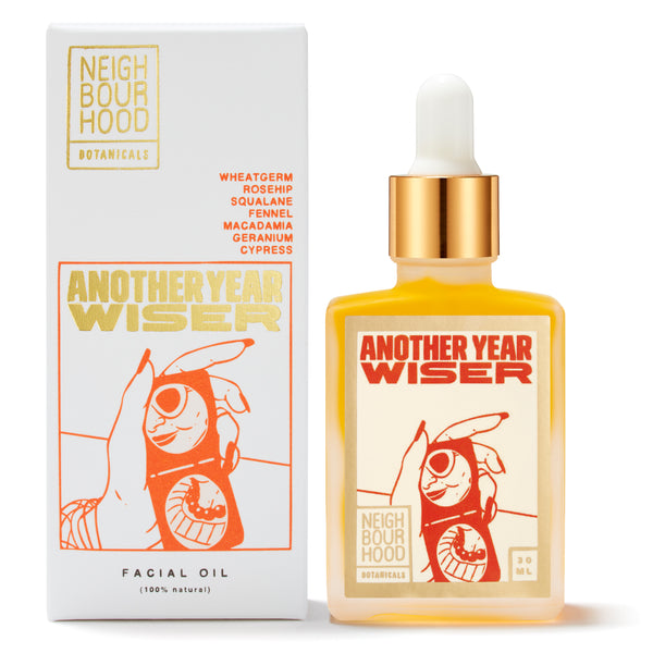 Best Anti-Aging Facial Treatment - Neighbourhood Botanicals Another Year Wiser Face Oil