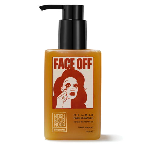 Neighbourhood Botanicals Face Off Oil to Milk Face Cleanser - Best Natural Makeup Remover