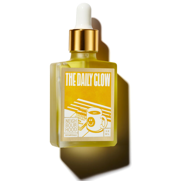 Neighbourhood Botanicals The Daily Glow Facial Oil - Best Natural Face Serum for Sensitive Skin