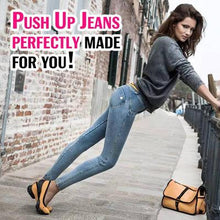 Load image into Gallery viewer, Perfect Bottom Waist-Slimming High Elastic Jeans