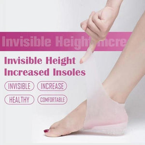 Invisible Height Increased Insoles(A pair)
