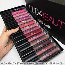 HUDA Beauty Liquid Matte Lipstick [12 PCS SET]